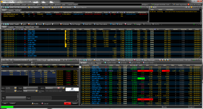 Trade Management System Main Window